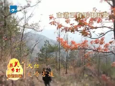 [浙江新闻联播]12月17日特别策划:到最美乡村 品古道韵味