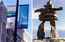 <font color=blue>Ville hôte- Vancouver</font><br><a></a>------------------------------------------<br> Vancouver est une ville portuaire du Canada, la plus importante de l´Ouest canadien, située dans la province de la Colombie-Britannique.