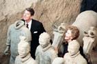 1984<br>Visite du président américain Ronald Reagan en Chine