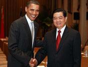 Rencontre des présidents chinois et américain à New York