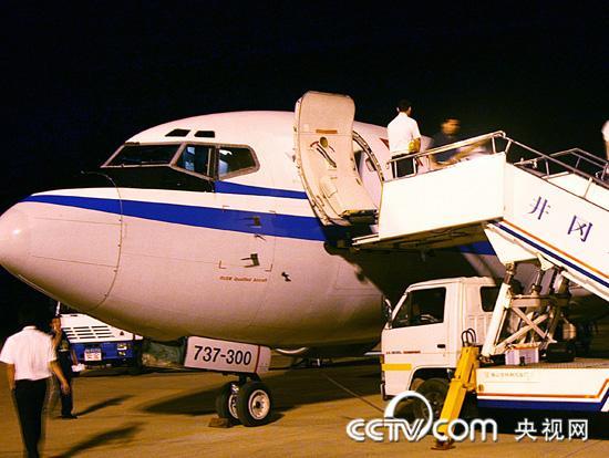 随同北京各大旅行社的线路考察人员,记者乘坐直航班机来到井冈山