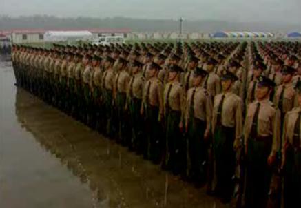 各仪仗队训练精益求精