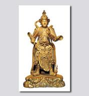 韦驮菩萨像
