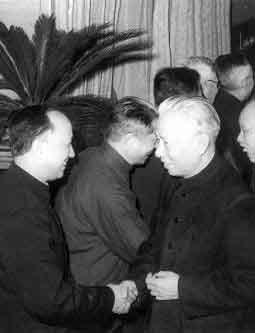 刘少奇接见钱学森等著名科学家