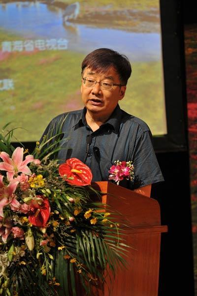 中国诗歌学会副会长叶延滨致辞