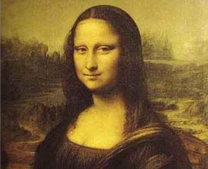 世界名画《蒙娜丽莎的微笑》