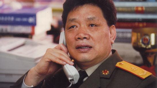 刘效礼,一个将军的电视人生。