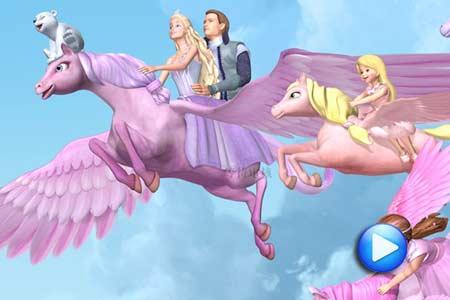 芭比公主 的梦幻城堡专题 cntv 动画 台 中国网