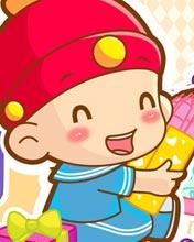 《摩财岛》壁纸-童子系列