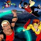 少年正义联盟<br>超级英雄涌现新生力量