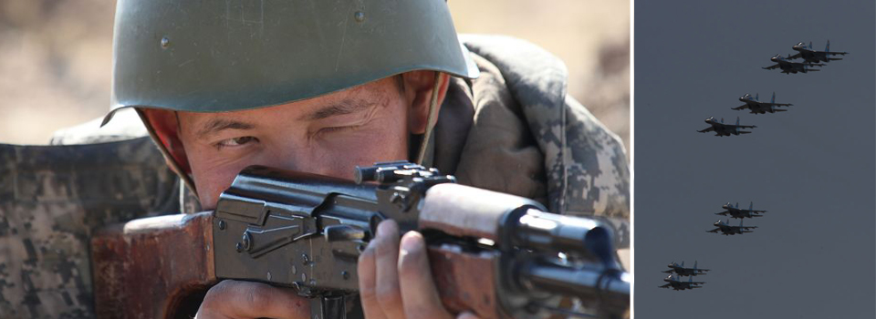 2nd joint military training begins in Kazakhstan
