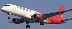 Plane: Embraer E-190 jet