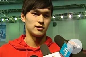 Sun Yang eyes Olympic gold