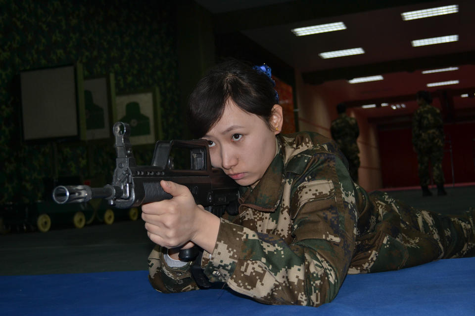 Female Swat Team In Xinjiang Chinese Peoples Life Through Lens