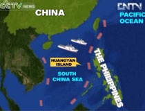 China Holds Undisputed Sovereignty Over Huangyan Island CNTV - Huangyan map