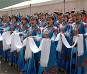 内蒙古大学的同学们激情绽放