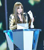 港澳台地区年度最受欢迎女歌手:萧亚轩