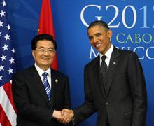 Les présidents chinois et américain se rencontrent en marge du sommet du G20