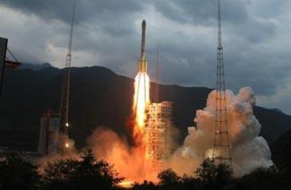 Le vol de la sonde Chang´e II est divisé en 3 phases. Lancement, trajet Terre-Lune et enfin orbite lunaire.