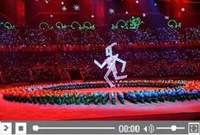 <font color=blue> Cérémonie d&#180;ouverture des Jeux para-asiatiques</font>
