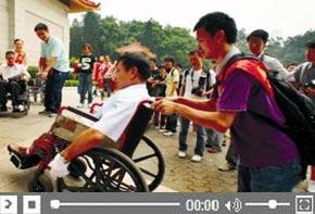 <font color=blue> Progrès réalisés dans la gestion des handicapées en Chine et les Jeux Para-asiatiques de Guangzhou</font>