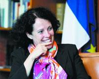 Sylvie Bermann:  l'ambassadrice française à Beijing