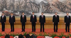 Les nouveaux membres permanents du Bureau politique du Comité central du PCC