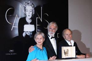 Festival de Cannes : la Palme d´Or décernée au film Amour