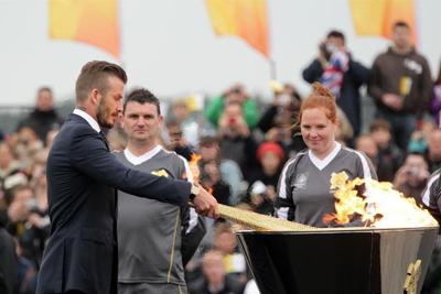 Royaume Uni : relais de la Torche olympique