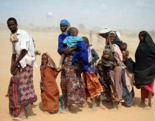 La sécheresse frappe l´Afrique de l´Est