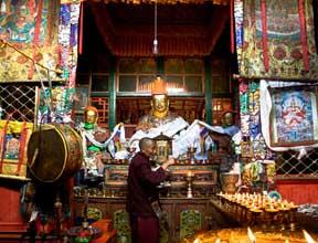 La minorité tibétaine à Shannan
