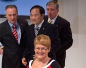 瑞典企业能源部长奥勒夫松女士