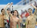 男子4X200米自由泳接力决赛 美国夺冠