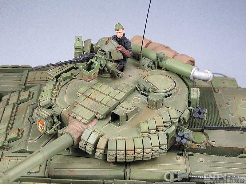 真实系军模涂装_坦克模型鉴赏