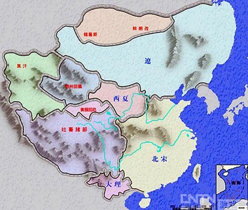 北宋末年地图