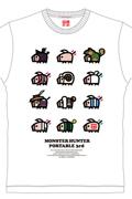 《怪物猎人P3》优衣库T恤系列第二弹 7月发售