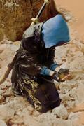 《盗墓笔记》静态写真继续上演:大漠黄沙