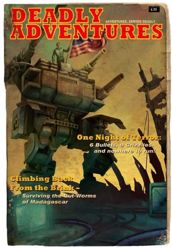 《战壕防御》获奖完全模仿纸质杂志封面