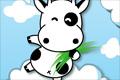 奶牛跳云朵
