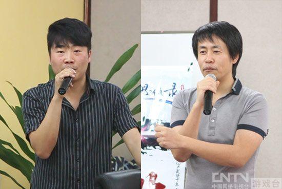 麒麟游戏副总裁朱燕晨 CEO尚进