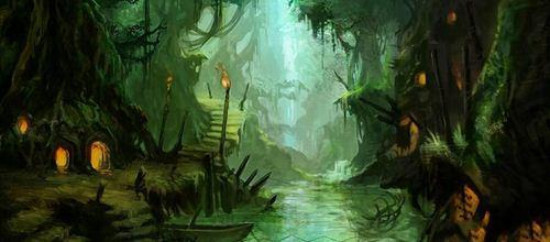 游戏森林场景分享展示