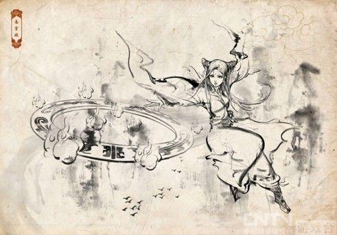 《魔道六宗》做全球首款国画风页游