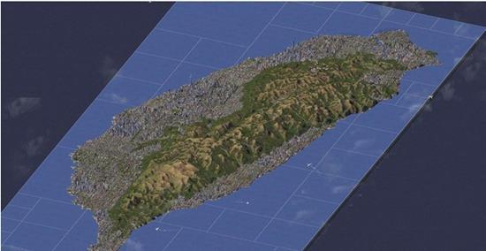 玩家用《模拟城市4》完全还原台湾岛