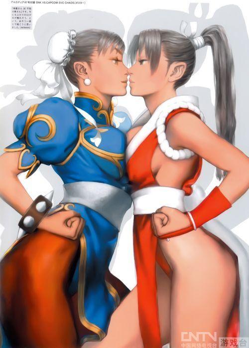 Capcom传奇画师经典游戏角色原画欣赏 单机