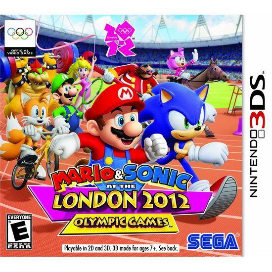 3DS《马索伦敦奥运会》游戏封面及发售日公开
