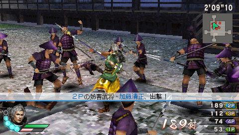 《战国无双3Z 特别版》登陆PSP 新图公布