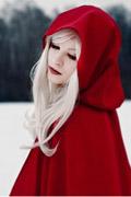 冷艳版《小红帽》COS 老巫婆这下你还敢给她吃苹果吗?