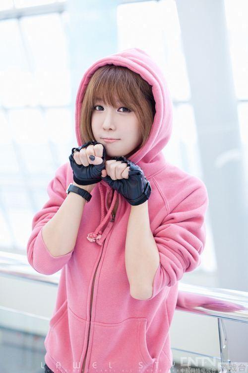韩国美女Showgirl许允美COS及写真欣赏 单机
