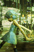 带你行走在2D与3D之间 Shintaro Ohata雕塑绘画作品