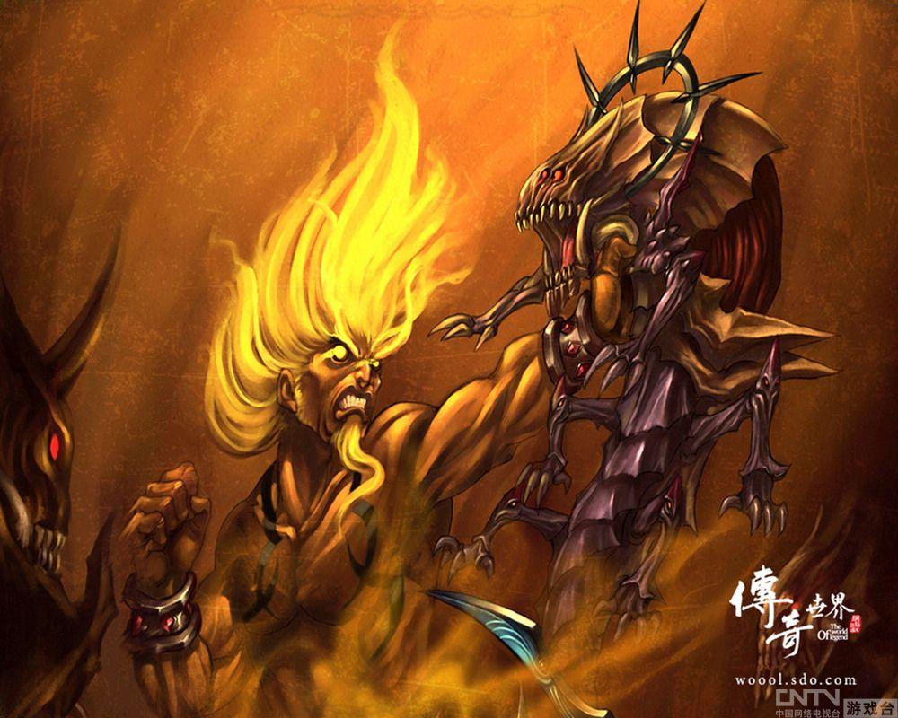 《传奇世界》全新激情 龙王装备战力提升_厂商
